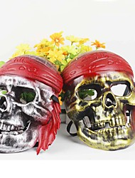 1PC Pirate Skull Masks for Halloween Costume Party Random Color