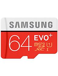 оригинальный Samsung 64GB CLASS10 80MB / с UHS-У1 карта памяти TF