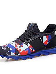 SM-7700 Tênis de Corrida Homens Anti-Escorregar / Anti-Shake / Almofadado / Ventilação / Vestível Pele PVC BorrachaCorrer / Esportes
