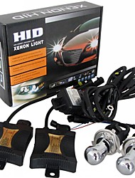 55W Xenon Hi-Low HID KIT Headlight lamp Slim Ballast H4 9004/9007 H13 4300K 6000K 8000K 10000K