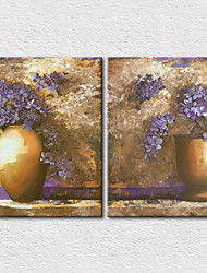Canvas Set Floral/Botanical Modern,Two Panels Canvas Vertical Print Wall Decor For Home Decoration