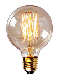 G80 E27 40W Incandescent Vintage Light Bulb for Household Bar Coffee Shop Hotel (AC220-240V)