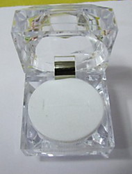 Jewelry Boxes Resin 1pc Transparent