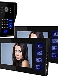 800*480 120 CMOS Klingelanlage Kabellos Multifamily videotürklingel