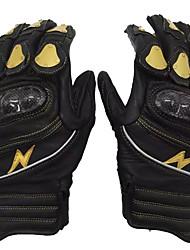 GLOVE MOTRAVEL Leather Carbon Fiber Titanium Alloy Electric Motorcycle Warm Gloves