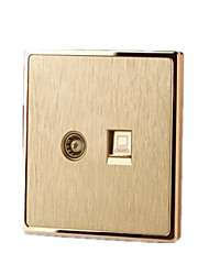 Gold S20 Tv Computer Intelligent Switch Socket