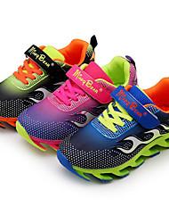 Boy's Sneakers Spring / Fall Comfort / Round Toe PU Athletic / Casual Flat Heel Others / Hook & Loop Black