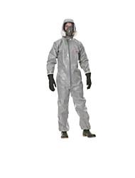 poeira resistir líquido químico com capuz macacões de proteção tamanho xl
