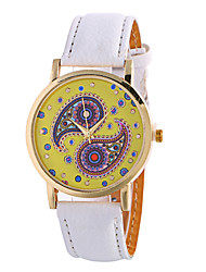 Ladies Fashion Girl Quartz Watch Clock Women Leather Casual Dress Women's Flower Wristwatch Cool Watches Unique Watches