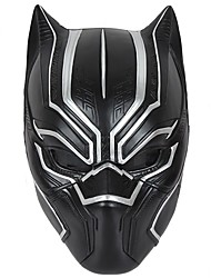 Black Panther Black Resin Mask Halloween Hand Made Horror  Cosplay Masks  Black Friday Luxury Mask