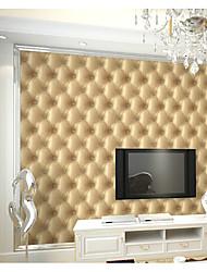 Damasco / Art Deco / 3D Papel de Parede Para Casa Clássico Revestimento de paredes , PVC/Vinil Material adesivo necessário papel de parede