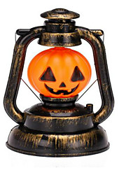 Halloween Lantern The Glow Jack-o '-lanterns Evening Bar Decoration Items  Night Light Ghost Called  Pattern Is Random