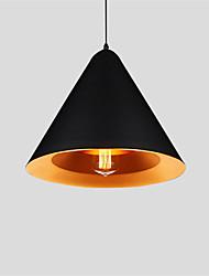 Max 60W Lampe suspendue ,  Traditionnel/Classique / Rustique / Vintage / Rétro Peintures Fonctionnalité for Style mini MétalSalle de