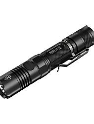 Nitecore® Lanternas LED LED 1000 Lumens 4.0 Modo LED 18650.0 / CR123ARegulável / Prova-de-Água / Recarregável / Resistente ao Impacto /