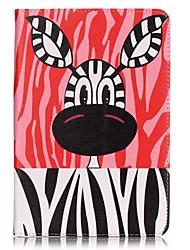 Pour Porte Carte / Portefeuille Coque Coque Intégrale Coque Animal Dur Cuir PU Apple iPad Mini 4 / iPad Mini 3/2/1