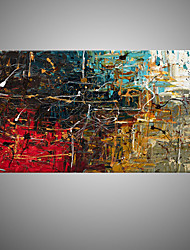 IARTS Single Contemporary Abstract Paintings Handmade Colorful  Wall Art Series Modern Canvas Fabric Art For Home Decor
