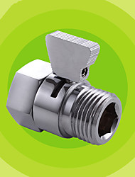 Shower Pressue Quick Valve Brass Water Control Valve Shut Off Switch for Bidet Spray or Top Rain Shower