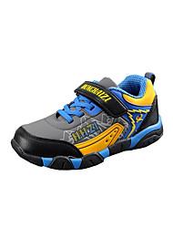 Garçon-Décontracté-Gris-Talon Plat-Bout Arrondi-Chaussures d'Athlétisme-Polyuréthane