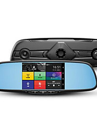M2 Intelligent Multi Function Mirror Navigation Vehicle Before And After The Double Record Electronic Dog