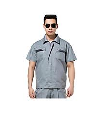 travaux à manches courtes, vêtements d'été anti-statique taille 180