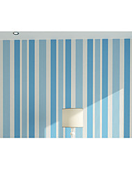 Contemporary Non-woven Living Roon Office Bedroon Wallpaper Vertical Stripes Murals of Wall Paper Roll