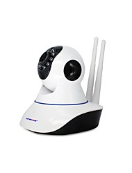 Strongshine@ 720P Max SD/TF Card Support 64GB IR-cut Day Night P2P Wireless PTZ Indoor IP WiFI Camera
