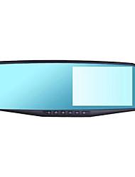 frontal e lente dupla traseira 1080p visão noturna gravador de imagens de condução de alta definição