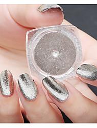 1g/Box Manicure Mirror Mirror Mirror Aurora Electroplating Powder Powder