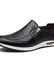Men's Oxfords Casual/Office & Career/Party & Evening Leather Walking Fashion Business Slip on Shoes
