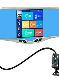 Intelligent Voice Navigation Car Rearview Mirror Driving Recorder Car Driving Recorder Multifunction Machine
