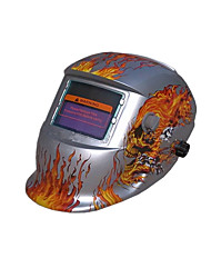 Automatic stepless adjustment of the head-mounted solar LCD welding masks