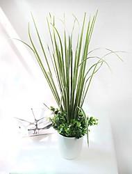 """1 Branch 1 Ramo Seda Plantas Flor de Mesa Flores artificiais Total Length:29.5"""""""