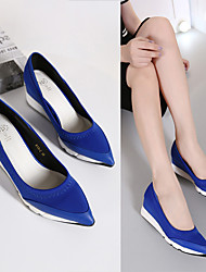 Women's Heels Spring / Summer / Fall Creepers Fabric Casual Platform Others Black / Blue Others
