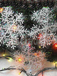 4pcs 10CM Christmas Hangings Drawing Snowflakes Christmas Gift Christmas Tree Decoration