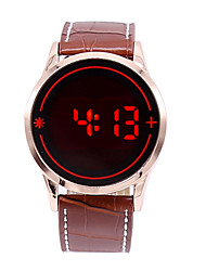 Relogio Masculino Men's LED Touch Screen Digital Date Clock Watches Men Sports Watch Wrist Watch Cool Watch Unique Watch