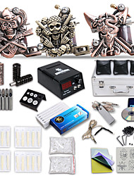 nieuwste tattoo kit met 3 tattoo machines