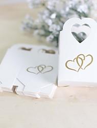 25 Stück / Set Geschenke Halter-Herzförmig Kartonpapier Geschenkboxen Süßigkeiten Gläser und Flaschen Geschenk SchachtelnNicht