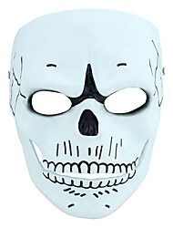 Halloween Mask Resin  1pc Hand Made Horror Cosplay Halloween Cosplay 007 Masks Mask Black Friday Luxury Mask