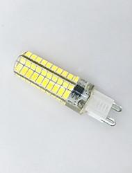 9W G9 LED a pannocchia T 80LED SMD 5730 600LM lm Bianco caldo / Luce fredda Decorativo AC 220-240 / AC 110-130 V 1 pezzo