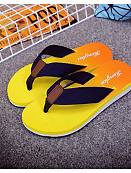 Unisex Slippers & Flip-Flops Summer Comfort Customized Materials Casual Flat Heel