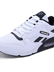 Men's Sneakers Spring / Fall Comfort Outdoor / Athletic / Sport Lace-up Black / Blue / Red / White Tennis / Walking /