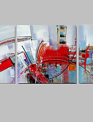 IARTS Contemporary Wall Art Stretchered Paintings 3 Sets  Canvas For Living Room