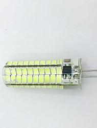 9W G4 Ampoules Maïs LED T 80LED SMD 5730 600LM lm Blanc Chaud / Blanc Froid Décorative AC 100-240 / AC 110-130 V 1 pièce