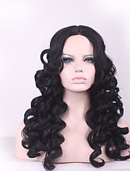 kinky Afro Hair Wig Natural  Wig Perucas Perruque Synthetic Women Curly Pelucas Sinteticas Hair Style