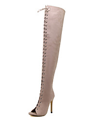 Women's Boots Spring / Summer / Fall / Winter Riding Boots / Gladiator / Comfort LeatheretteParty & Evening /