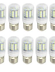 4.0 E26/E27 Bombillas LED de Mazorca T 27 SMD 5730 280 lm Blanco Cálido / Blanco Fresco Decorativa AC 85-265 / 09.30 V 10 piezas