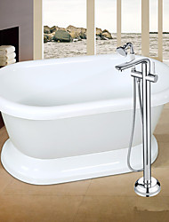 Contemporary / Art Deco/Retro / Modern Tub And Shower Widespread / Floor Standing