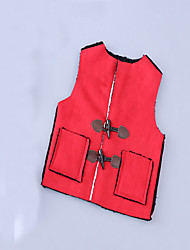 Girl's Casual/Daily Solid Vest,Cotton Spring / Fall Blue / Red