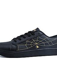 Men's Fashion Sneakers Comfort Microfibre Outdoor/Casual Flat Walking Board Shoes