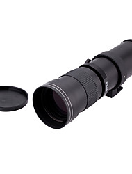 420-800mm F/8.3-16 Super Telephoto Manual Zoom Lens  T2-Nikon T Mount Ring Adapter for Nikon D5100 D7000 D800 D90 D600
